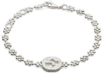 Gucci Interlocking G bracelet in silver