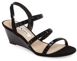 Women's Nina Naleigh Strappy Wedge Sandal $88.95 thestylecure.com