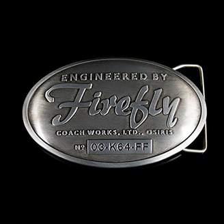Quantum Mechanix Firefly Engineered by Firefly Metal Belt Buckle