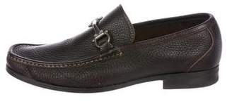 Salvatore Ferragamo Gancini Leather Loafers