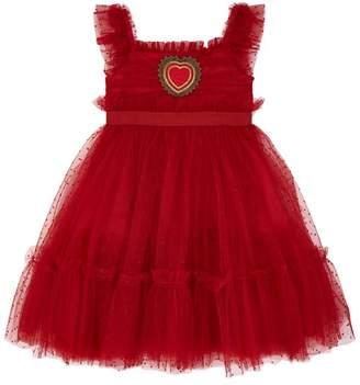 Dolce & Gabbana Tulle Heart Dress
