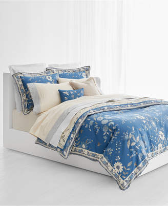 Lauren Ralph Lauren Josephina Cotton Sateen 300-Thread Count Reversible 3-Pc. Floral King Duvet Cover Set Bedding