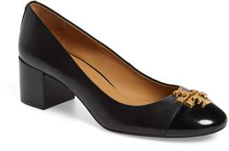 Tory Burch Everly Cap Toe Pump