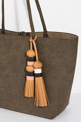 Feed FEED Leather Double Tassel