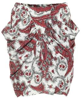 Isabel Marant Tilena printed miniskirt
