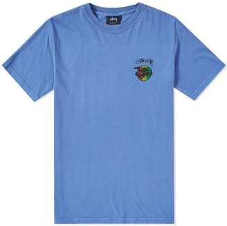 Stussy Rasta Sk8 Pigment Dyed Tee
