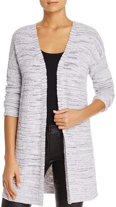 Nic+Zoe Marled Lace Up Long Cardigan