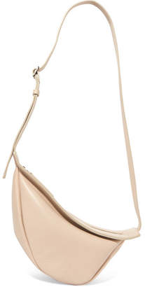 The Row Slouchy Banana Small Leather Shoulder Bag - Beige