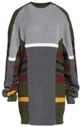 Y/Project Rib & Cable Pullover Sweater