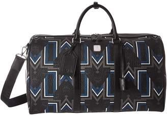 MCM Traveler Gunta Medium Visetos Weekender Weekender/Overnight Luggage