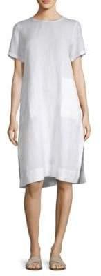 Eileen Fisher Roundneck Knee-Length Dress