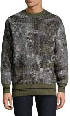 Diesel Black Gold DBG Camo Knit Sweater