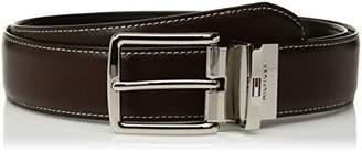 """Tommy Hilfiger Men's 1.3"""" Wide Reverisble Belt"""