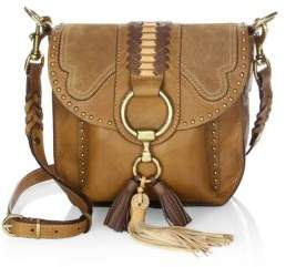 Frye Ilana Western Leather Saddle Bag