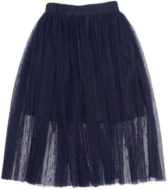 Stretch Tulle Long Skirt