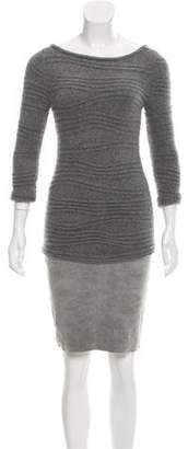 Jitrois Mini Sweater Dress