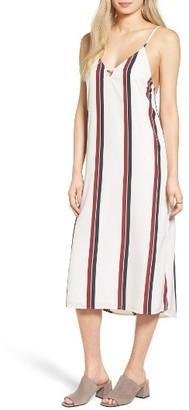 Women's Amuse Society Stripe Midi Dress $60 thestylecure.com