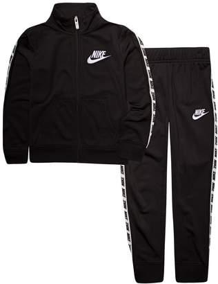 Nike Girls 4-6x Futura Logo Track Jacket and Jogger Pants Set
