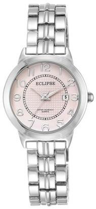 Eclipse by Armitron Eclipse By Armitron Women's Round Pink Dial Dress Watch