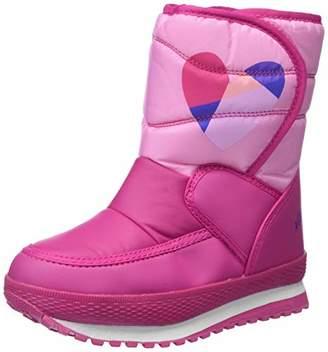 Agatha Ruiz De La Prada Girls' 181980 Slouch Boots, Pink Fucsia (Textil), 13UK Child