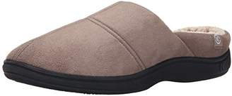 Isotoner Men's Microsuede Hoodback Thinsulate Flat