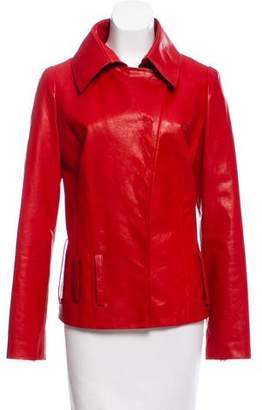 Anett Rostel Tailored Leather Jacket