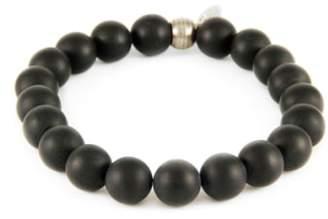 Ettika Mr. Onyx Stretch Bracelet