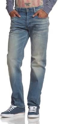 G Star Men's 3301 Loose Fit Jean In Cyclo Stretch Denim