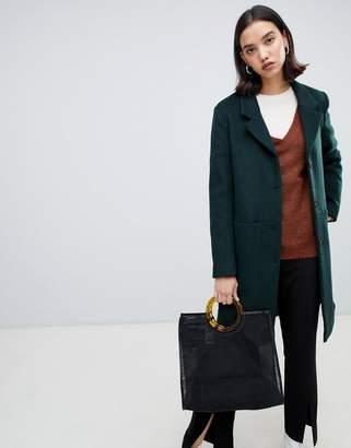 Selected wool coat