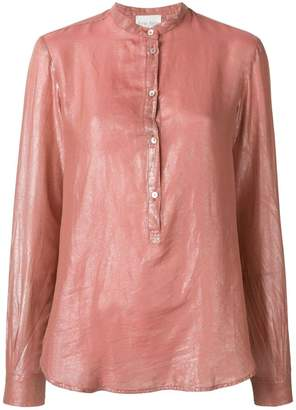 Forte Forte long-sleeve fitted blouse
