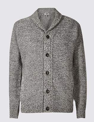 Marks and Spencer Textured Shawl Cardigan