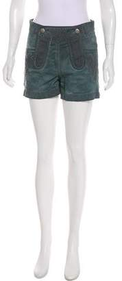 Chanel Denim Mini Shorts