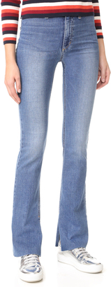 Joe's Jeans Micro Flare High Rise Jeans $225 thestylecure.com