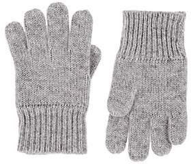 Barneys New York Kids' Cashmere Gloves - Gray