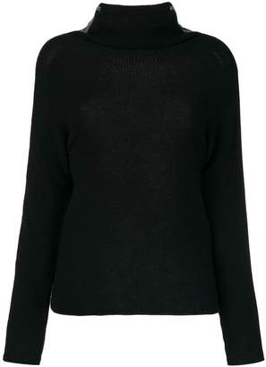 Jo No Fui tubular neck sweater
