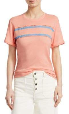 Elizabeth and James Striped Cotton Tee