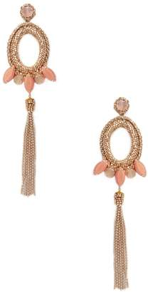Deepa Gurnani Women's Beaded & Drop Chain Statement Earrings