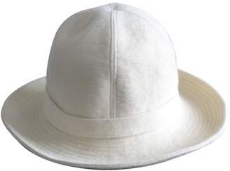 Lanvin Ecru Wool Hats
