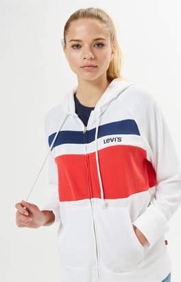 Levi's Stripe Colorblocked Hoodie