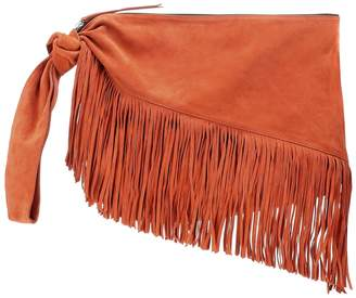 Isabel Marant Farwo fringe-trimmed suede pouch