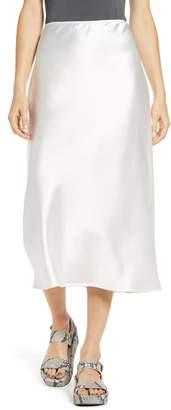 Topshop A-Line Midi Skirt