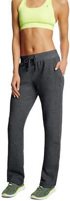 Champion Fleece Open-Bottom Pants