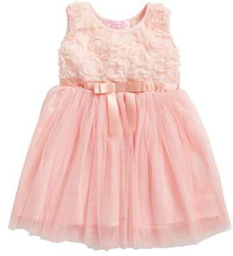 Popatu Empire Waist Rosette Dress