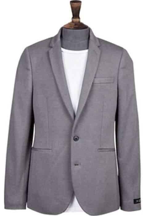 Womens **Burton Grey Slim Fit Jersey Stretch Blazer
