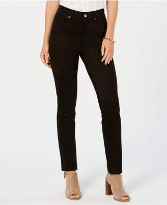 Tommy Hilfiger Textured Skinny Pants, Created for Macy's