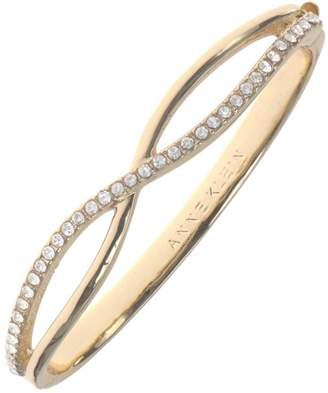 Anne Klein Infinity Studded Bangle