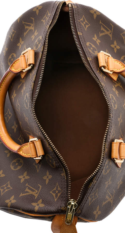 What Goes Around Comes Around Louis Vuitton Monogram Speedy 30 Bag 2