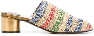 Salvatore Ferragamo striped sandals