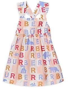 af2bdb71c Burberry Baby's & Little Girl's Livia Logo Pinafore Dress