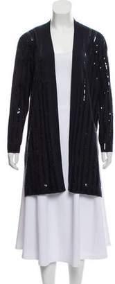 Akris Silk Embellished Cardigan